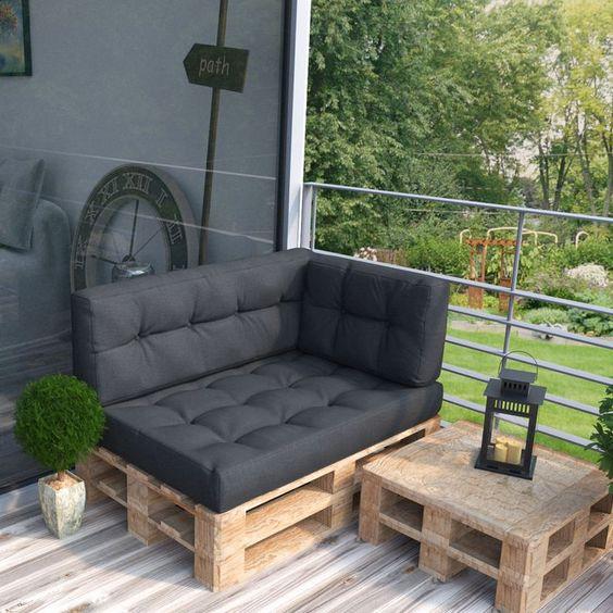 ᐅ Sitzmöbel aus Paletten | Ideen & Inspirationen + DIY Anleitungen