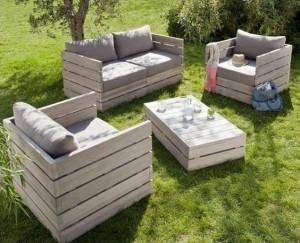 Gartenmöbel-aus-Paletten-Lounge Bauanleitung