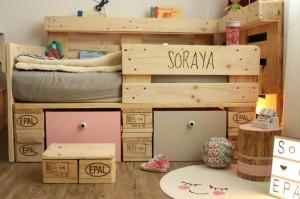 Bett aus holzpaletten  ᐅᐅ】 Palettenmöbel selber bauen ᐅ Anleitungen - DIY Ideen & Shop