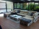 Palettenlounge-Lounge aus Paletten selber bauen