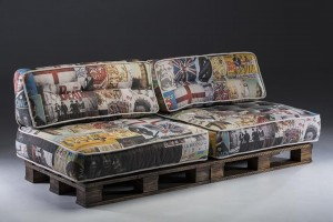 Palettensofa selber bauen Ideen- Sofa