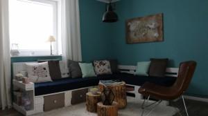 Sofa aus Europaletten- Möbel aus Paletten selber bauen