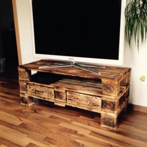 TV Kommode Sibeboard - Palettenmöbel bauen